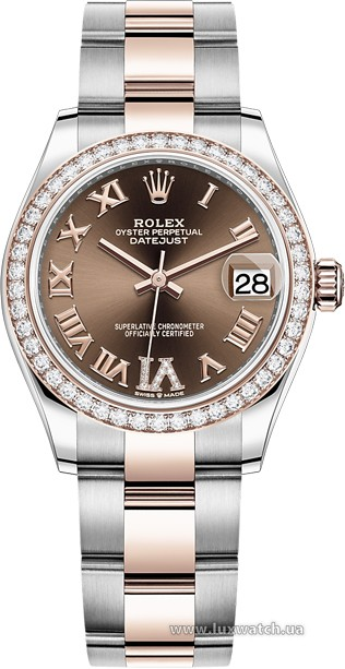 Rolex » Datejust » Datejust 31mm Steel and Everose Gold » 278381rbr-0005