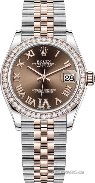 Rolex » Datejust » Datejust 31mm Steel and Everose Gold » 278381rbr-0006