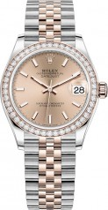 Rolex » Datejust » Datejust 31mm Steel and Everose Gold » 278381rbr-0010