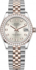 Rolex » Datejust » Datejust 31mm Steel and Everose Gold » 278381rbr-0016