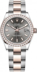 Rolex » Datejust » Datejust 31mm Steel and Everose Gold » 278381rbr-0017
