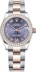 Rolex » Datejust » Datejust 31mm Steel and Everose Gold » 278381rbr-0019