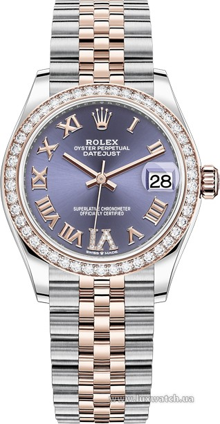 Rolex » Datejust » Datejust 31mm Steel and Everose Gold » 278381rbr-0020