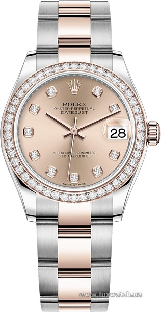 Rolex » Datejust » Datejust 31mm Steel and Everose Gold » 278381rbr-0023
