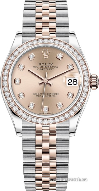 Rolex » Datejust » Datejust 31mm Steel and Everose Gold » 278381rbr-0024
