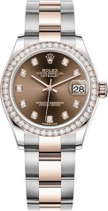 Rolex » Datejust » Datejust 31mm Steel and Everose Gold » 278381rbr-0027
