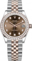 Rolex » Datejust » Datejust 31mm Steel and Everose Gold » 278381rbr-0028