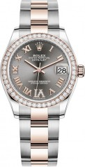 Rolex » Datejust » Datejust 31mm Steel and Everose Gold » 278381rbr-0029