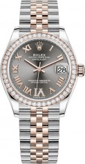 Rolex » Datejust » Datejust 31mm Steel and Everose Gold » 278381rbr-0030