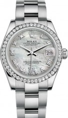 Rolex » Datejust » Datejust 31mm Steel and White Gold » 178384-0014
