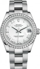 Rolex » Datejust » Datejust 31mm Steel and White Gold » 178384-0020