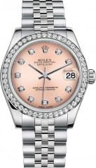 Rolex » Datejust » Datejust 31mm Steel and White Gold » 178384-0045
