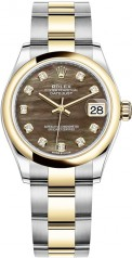 Rolex » Datejust » Datejust 31mm Steel and Yellow Gold » 278243-0023
