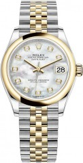 Rolex » Datejust » Datejust 31mm Steel and Yellow Gold » 278243-0028