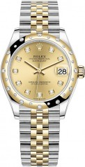 Rolex » Datejust » Datejust 31mm Steel and Yellow Gold » 278343rbr-0026