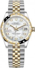 Rolex » Datejust » Datejust 31mm Steel and Yellow Gold » 278343rbr-0028