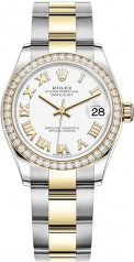 Rolex » Datejust » Datejust 31mm Steel and Yellow Gold » 278383rbr-0001
