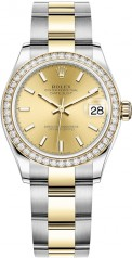 Rolex » Datejust » Datejust 31mm Steel and Yellow Gold » 278383rbr-0013