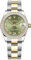 Rolex » Datejust » Datejust 31mm Steel and Yellow Gold » 278383rbr-0015