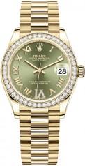 Rolex » Datejust » Datejust 31mm Yellow Gold » 278288rbr-0024
