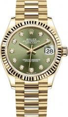 Rolex » Datejust » Datejust 31mm Yellow Gold » 278278-0011