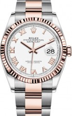Rolex » Datejust » Datejust 36mm Steel and Everose Gold » 126231-0016