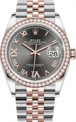 Rolex » Datejust » Datejust 36mm Steel and Everose Gold » 126281rbr-0011