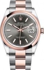 Rolex » Datejust » Datejust 36mm Steel and Everose Gold » 126201-0014