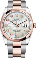 Rolex » Datejust » Datejust 36mm Steel and Everose Gold » 126201-0022