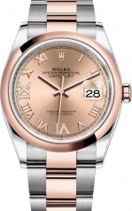 Rolex » Datejust » Datejust 36mm Steel and Everose Gold » 126201-0028