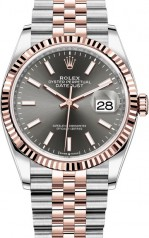 Rolex » Datejust » Datejust 36mm Steel and Everose Gold » 126231-0013