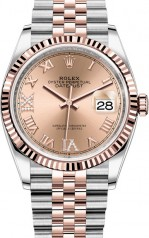 Rolex » Datejust » Datejust 36mm Steel and Everose Gold » 126231-0027