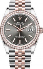 Rolex » Datejust » Datejust 36mm Steel and Everose Gold » 126281rbr-0001