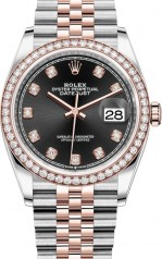 Rolex » Datejust » Datejust 36mm Steel and Everose Gold » 126281rbr-0007