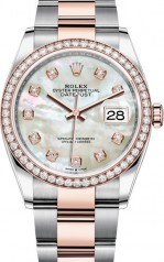 Rolex » Datejust » Datejust 36mm Steel and Everose Gold » 126281rbr-0010