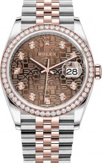 Rolex » Datejust » Datejust 36mm Steel and Everose Gold » 126281rbr-0013