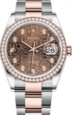 Rolex » Datejust » Datejust 36mm Steel and Everose Gold » 126281rbr-0014