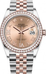 Rolex » Datejust » Datejust 36mm Steel and Everose Gold » 126281RBR-0015