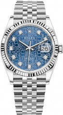 Rolex » Datejust » Datejust 36mm Steel and White Gold » 126234-0011