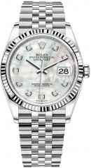Rolex » Datejust » Datejust 36mm Steel and White Gold » 126234-0019
