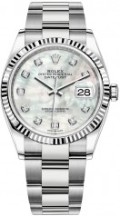 Rolex » Datejust » Datejust 36mm Steel and White Gold » 126234-0020