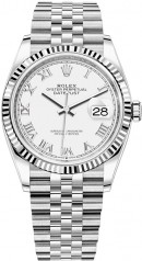 Rolex » Datejust » Datejust 36mm Steel and White Gold » 126234-0025
