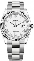 Rolex » Datejust » Datejust 36mm Steel and White Gold » 126234-0026