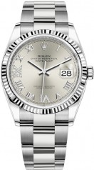 Rolex » Datejust » Datejust 36mm Steel and White Gold » 126234-0030