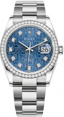 Rolex » Datejust » Datejust 36mm Steel and White Gold » 126284rbr-0004