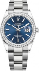 Rolex » Datejust » Datejust 36mm Steel and White Gold » 126284rbr-0010