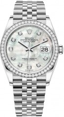 Rolex » Datejust » Datejust 36mm Steel and White Gold » 126284rbr-0011