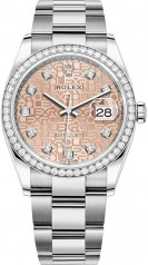 Rolex » Datejust » Datejust 36mm Steel and White Gold » 126284rbr-0016