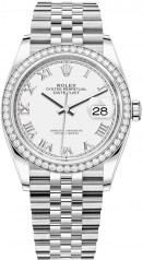 Rolex » Datejust » Datejust 36mm Steel and White Gold » 126284rbr-0017