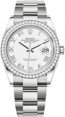 Rolex » Datejust » Datejust 36mm Steel and White Gold » 126284rbr-0018